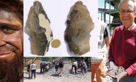 Bijzondere vondst van een stenen werktuig tijdens WPZ excursie